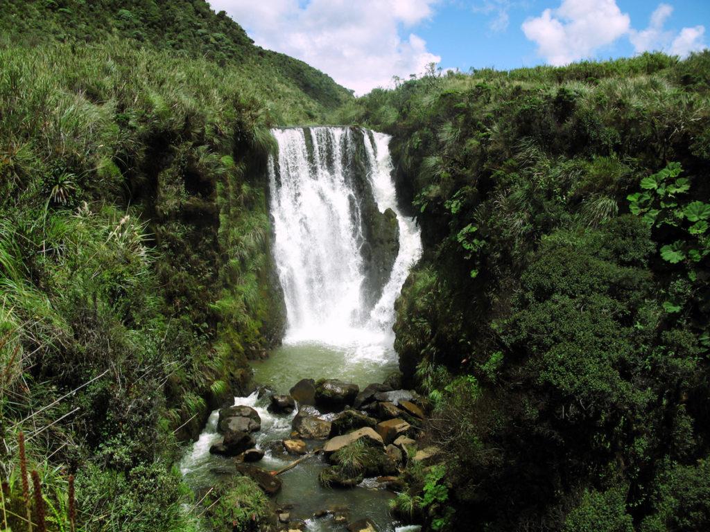El Parque Nacional Natural de Puracé está entre los departamentos de Cauca y Huila. En este parque nacen los principales ríos de Colombia: Magdalena, Cauca, Patía y Chaqueta, además de 30 lagunas. Foto: Cortesía DTAO.