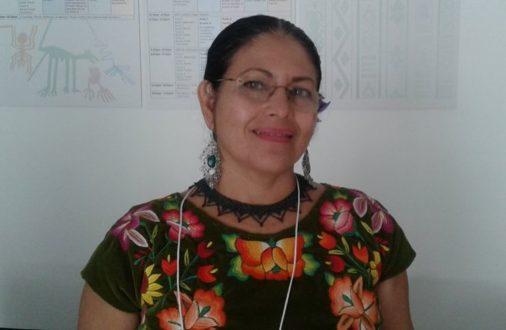 Bettina Cruz Velásquez de la Asamblea de los Pueblos Indígenas Istmo de Tehuantepec en Defensa de la Tierra y el Territorio (APIITDTT. Foto: Joaquín Ortiz.