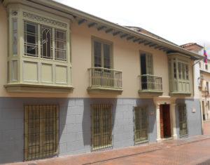 Casa Academia Diplomática (fuente, Cancillería Colombia).