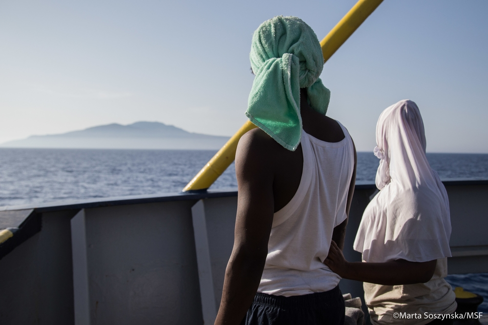 Karim and Assana, young couple from Ghana are looking at their promised land - Italy. They both lived in Libya until Karim got robbed and Assana accused of theft. That prompted them to put all their savings and try to escape to Europe.