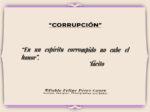 Reflexión 170_Corrupción_Tácito