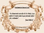 Reflexión 171_Democracia_Juan Pablo II