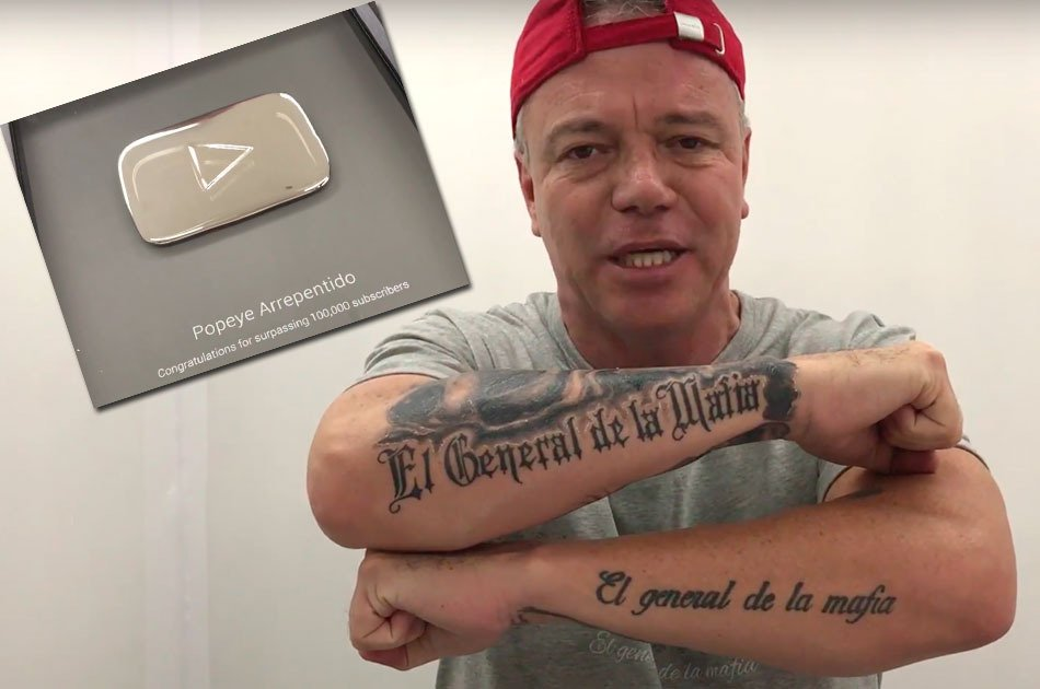 Sicario de Pablo Escobar obtiene botón de plata en YouTube