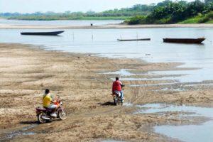 Sigue la alerta roja por sequía del Río Magdalena, imagen tomada de Vanguardia
