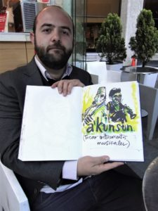 A´kunsun / Tocar Instrumento. Santiago Rivas, periodista