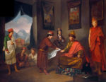 the_third_panchen_lama_receives_george_bogle_at_tashilhunpo_oil_painting_tilly_kettle_c-_1775