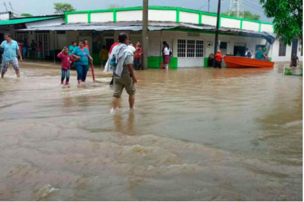 Las inundacioes pueden afectar a 12 millones de colombianos. / Archivo El Espectador