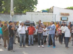 Veeduría ciudadana barrio El Socorro Foto: El Universal