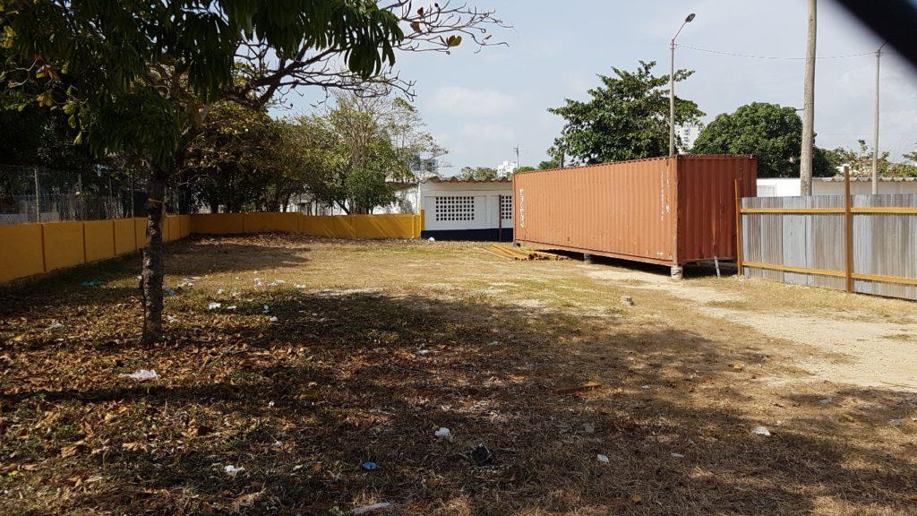Container contratista de obra