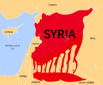 Syria Crisis. Refugee. War Victims