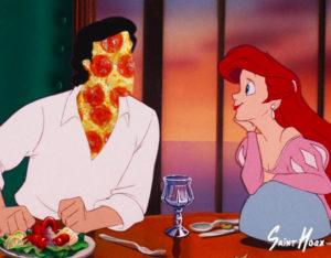 princesa-ariel-y-pizza