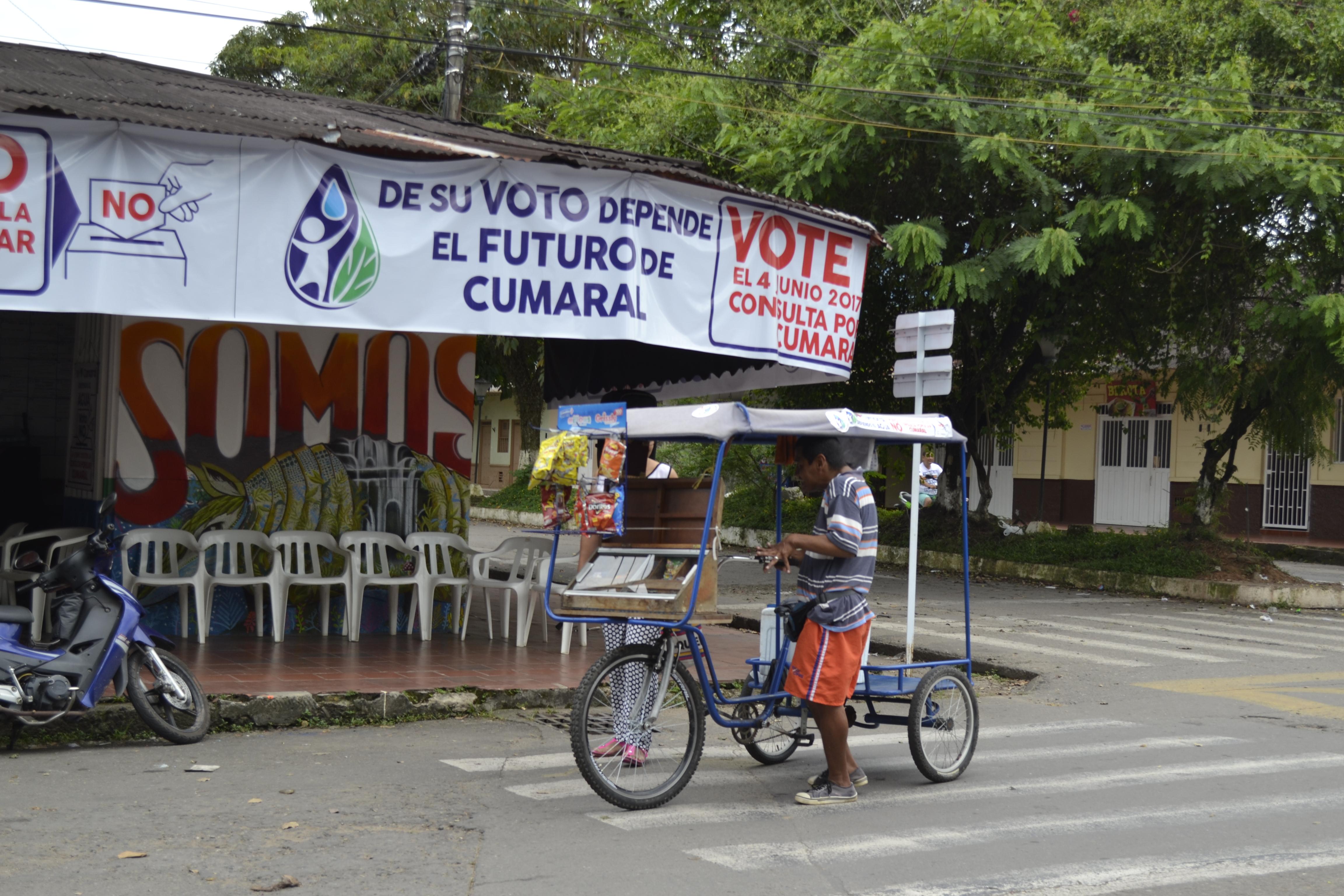 Municipio colombiano dice
