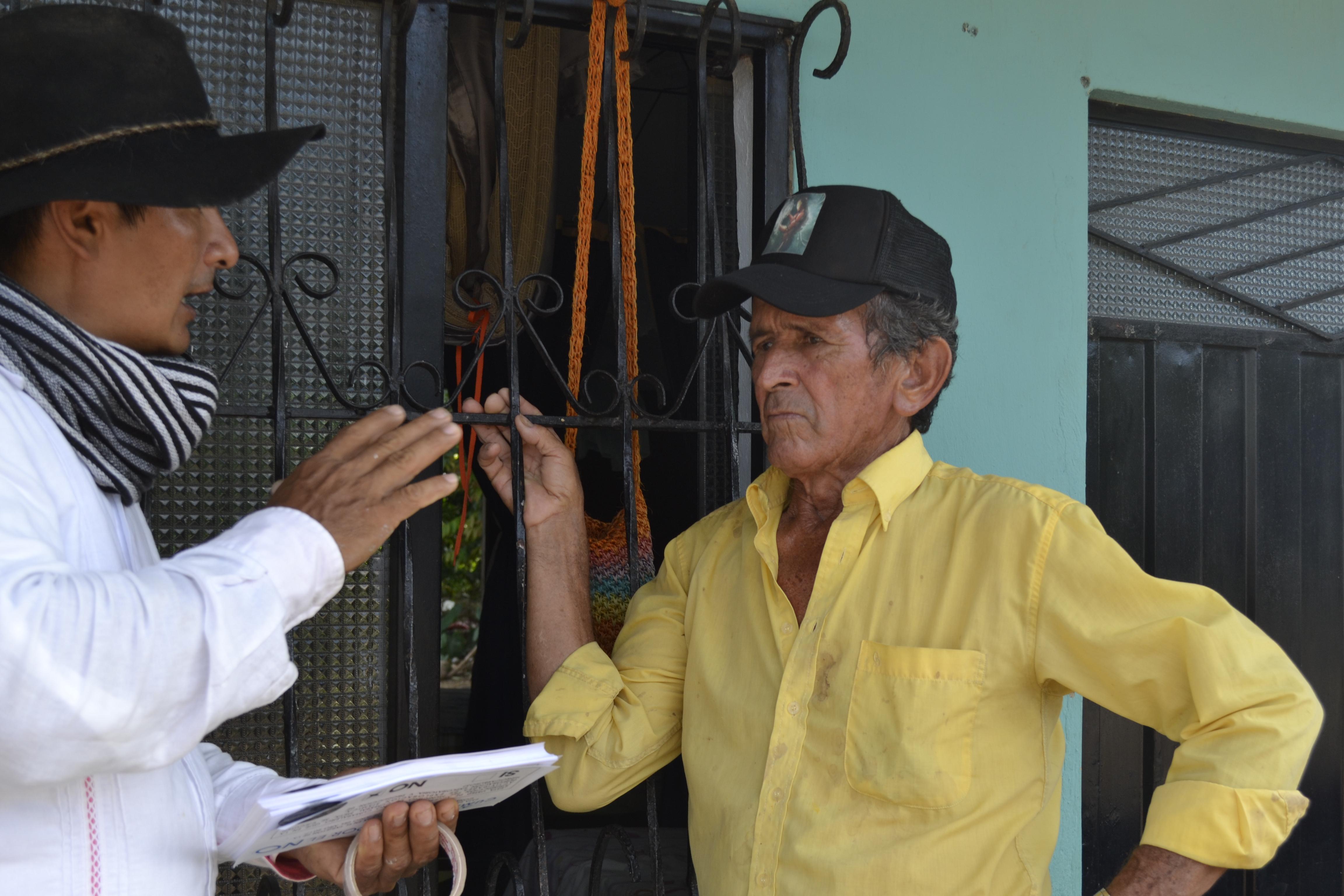 Habitantes de Cumaral, Meta, le dijeron No a la explotación petrolera