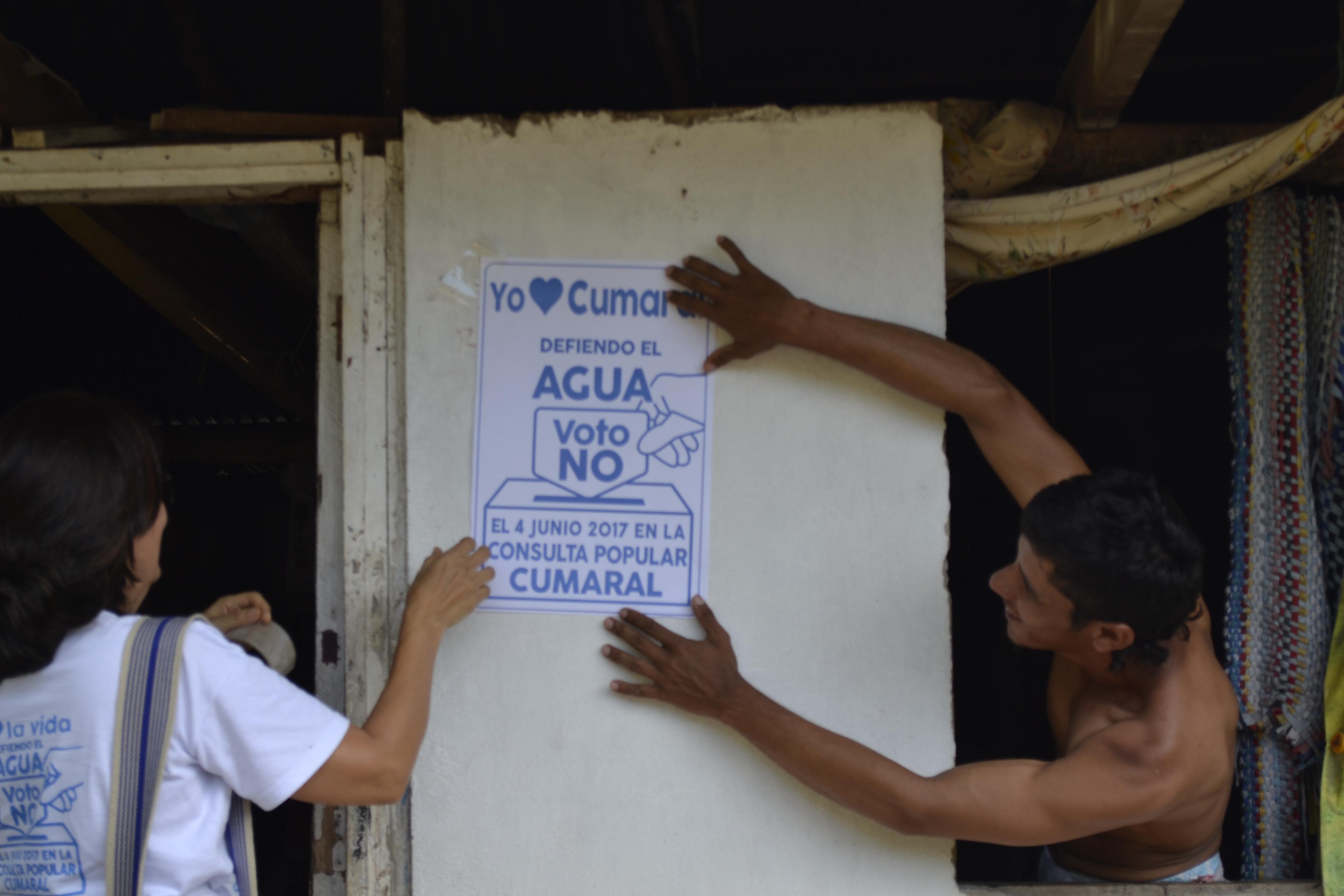 Cumaral salió a votar consulta popular sobre extracción de petróleo — COLOMBIA