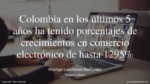 Comercio electrónico en Colombia para 2020