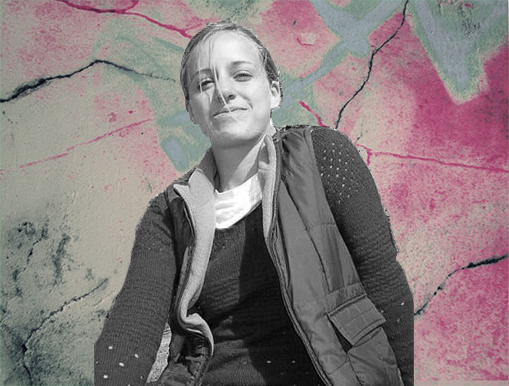La poeta argentina Delfina Goldaracena.