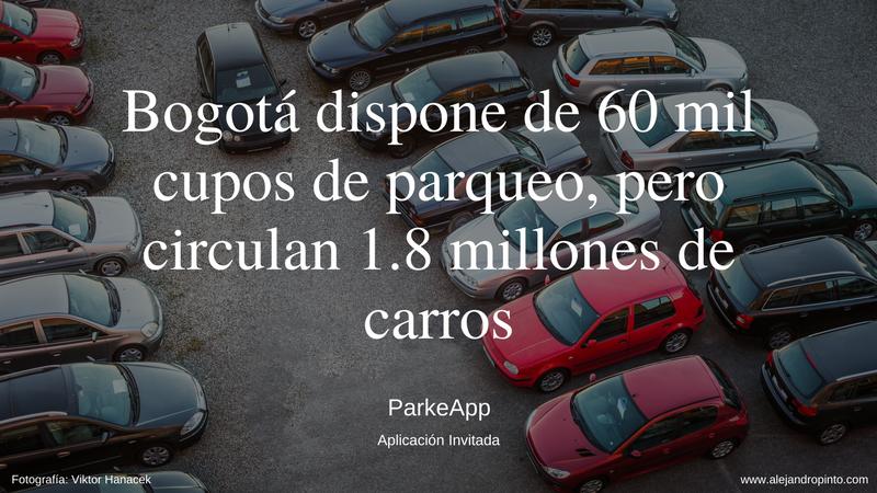 ParkeApp conecta dueños de parqueaderos y conductores en Colombia