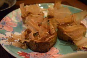 El plato de Berenjena que me enamoró :Dengakumiso