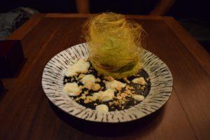 NIDO DE FAISAN (CHEESE CAKE DE TE VERDE MATCHA)