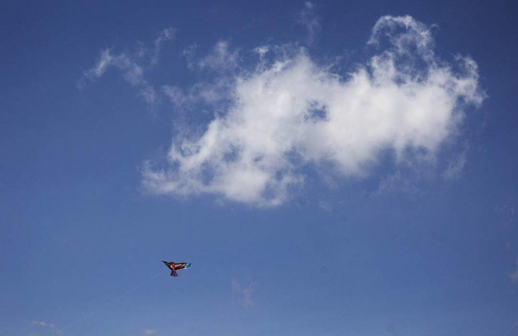 Aves y nubes en Santa Rosa de Cabal. Foto: @Saragapi.