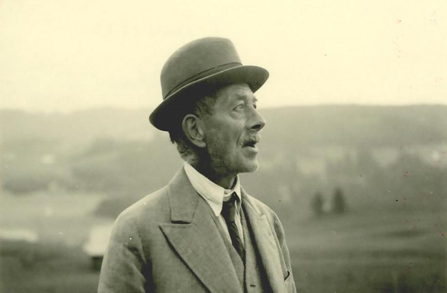 Robert Walser, poeta y caminante.