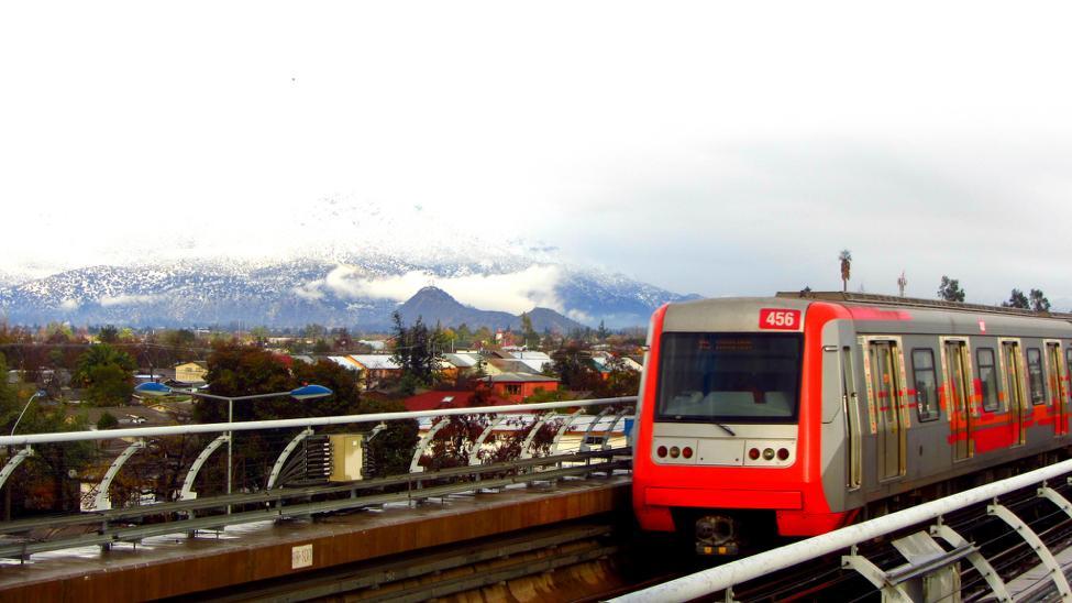 Metro de Santiago. Fuente: Rafael Retamal.