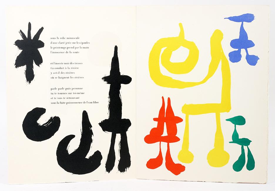 Joan Miró; Tristan Tzara, Blog El Peatón