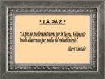 Reflexión 199_La Paz_Albert Einstein
