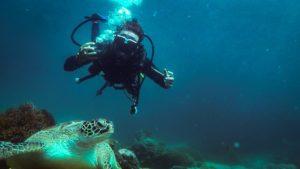 Buceando en Indonesia