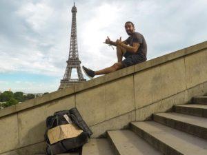 Viajando a dedo desde Rusia hasta Paris