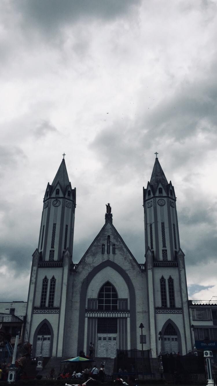 Basílica Menor Nuestra Señora de las Victorias en Santa Rosa de Cabal.