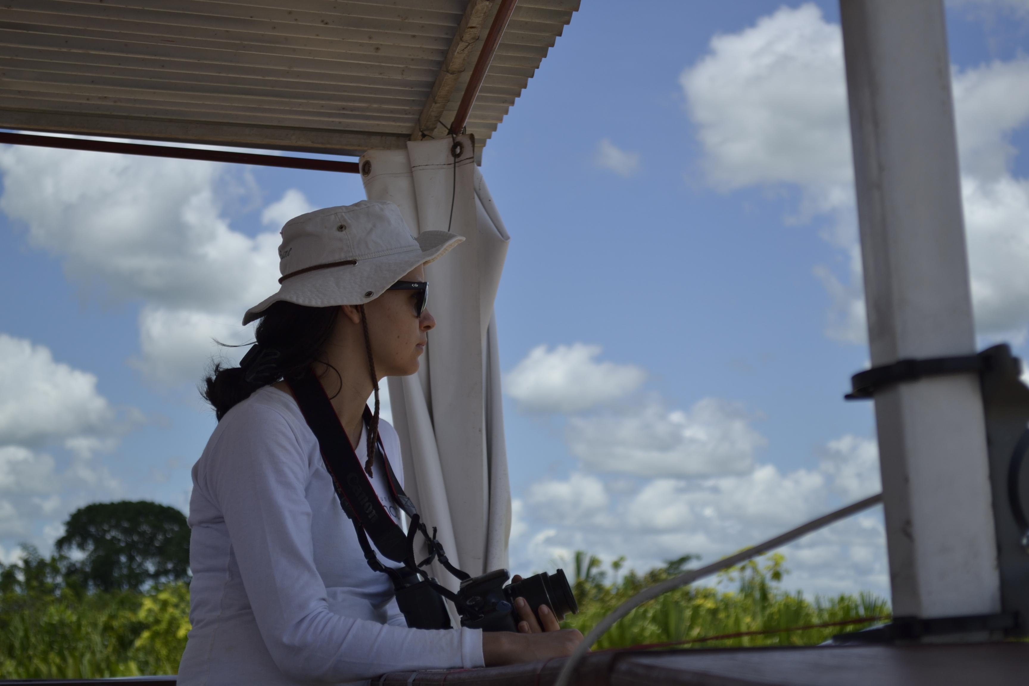 Joiciane Fariñas, investigadora brasileña.