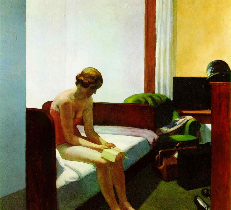 Hotel Room, 1931 - Edward Hopper.