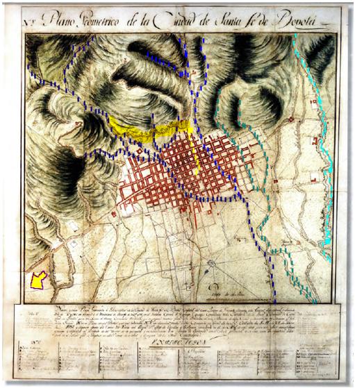 plano-geometrico-de-la-ciudad-de-santafe-de-bogota-1791