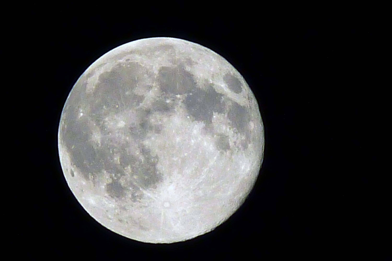 Super Luna. Foto: D4E en Flickr.