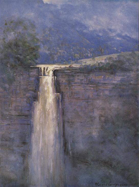 """""""Salto del Tequendama"""" – Ricardo Gómez Campuzano (1971)"""