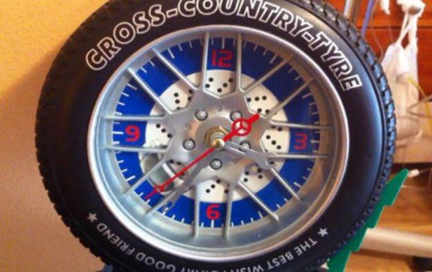 Reloj-rueda de Pedro - fotografía tomada del twitter del Dr. Alberto Garcia