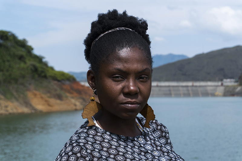 Francia Márquez caminó más de 350 kilómetros desde las montañas del Cauca hasta Bogotá. La travesía la hizo en 2014 junto con otras 80 mujeres de su comunidad que protestaban contra la minería ilegal. Foto: Premio Goldman.