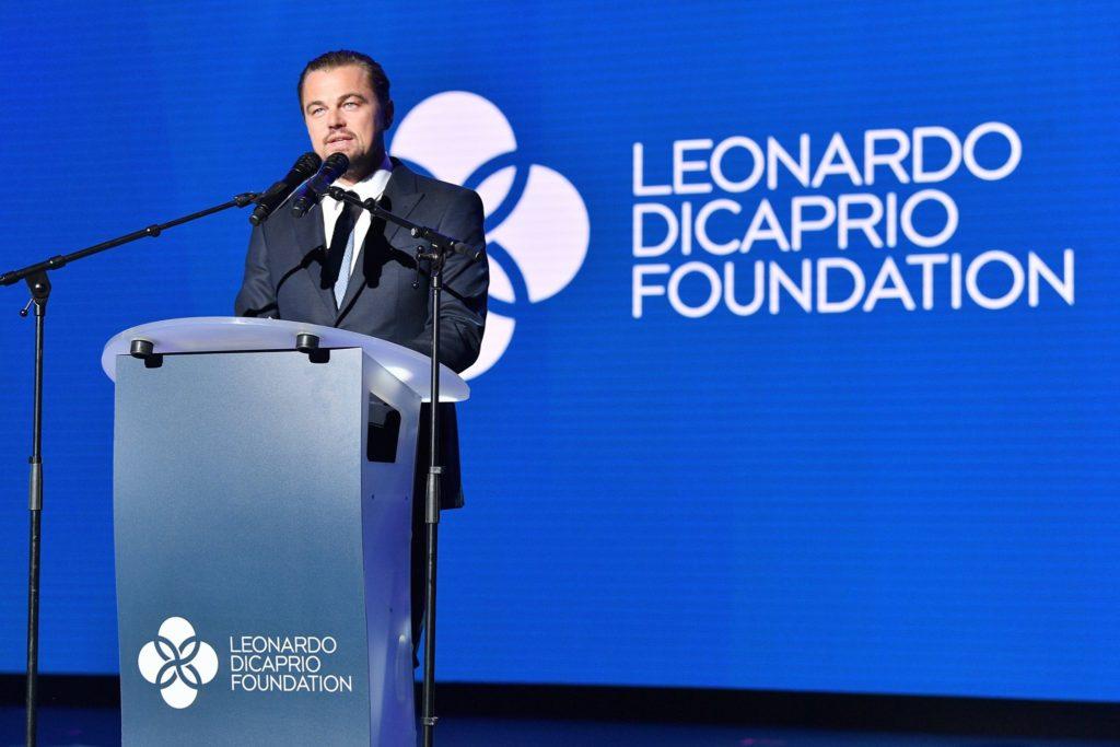 Leonardo DiCaprio, ganador de un Oscar, es reconocido por su activismo ambiental. Hace 20 años creó la fundación que lleva su nombre y trabaja para salvar ecosistemas en peligro. Foto: Facebook de Leonardo DiCaprio