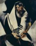 El judío en negro y blanco (Le juif en noir et blanc), 1914