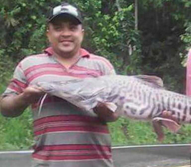 Luis Alberto Torres defendía el derecho a la pesca y a la minería artesanal con la cual sobreviven en su comunidad. Foto: Movimiento Ríos Vivos.