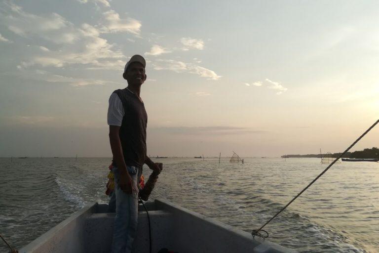 La salinización de la Ciénaga Grande de Santa Marta pone en peligro el sustento de los pescadores, una de las poblaciones más pobres y vulnerables del país. Foto: Sandra Vilardy.