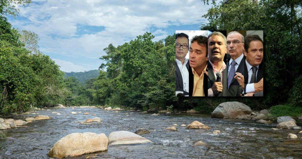 A pesar de que el tema ambiental no es el principal asunto abordado en campaña, en los últimos días ha estado entrando en la agenda de los candidatos. Composición: Mongabay Latam