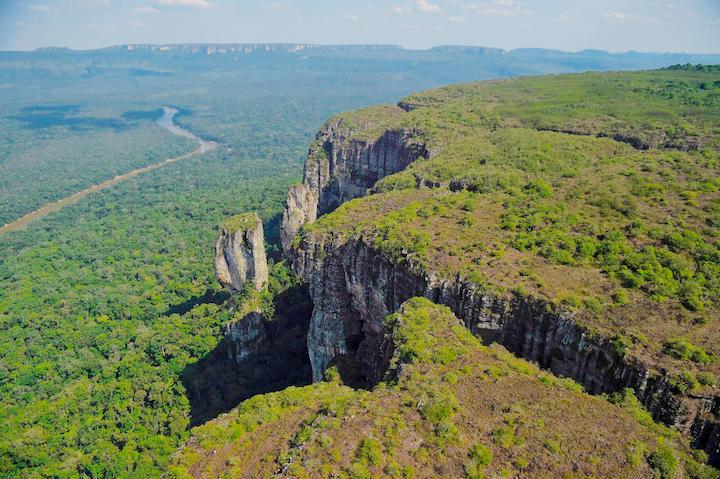 Parque Nacional Natural Serranía de Chiribiquete en Colombia. Foto: Parques Nacionales Naturales de Colombia.