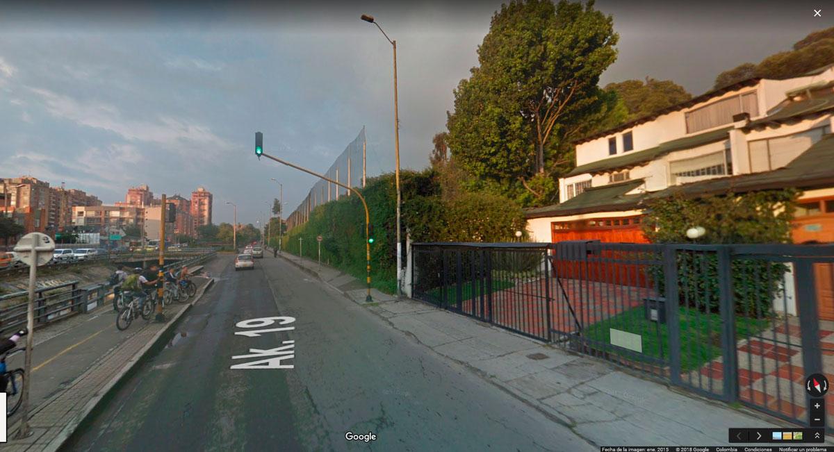 Carrera 19 con calle 127B