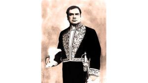 El poeta y diplomático Rubén Darío. Cónsul de Colombia en Buenos Aires.
