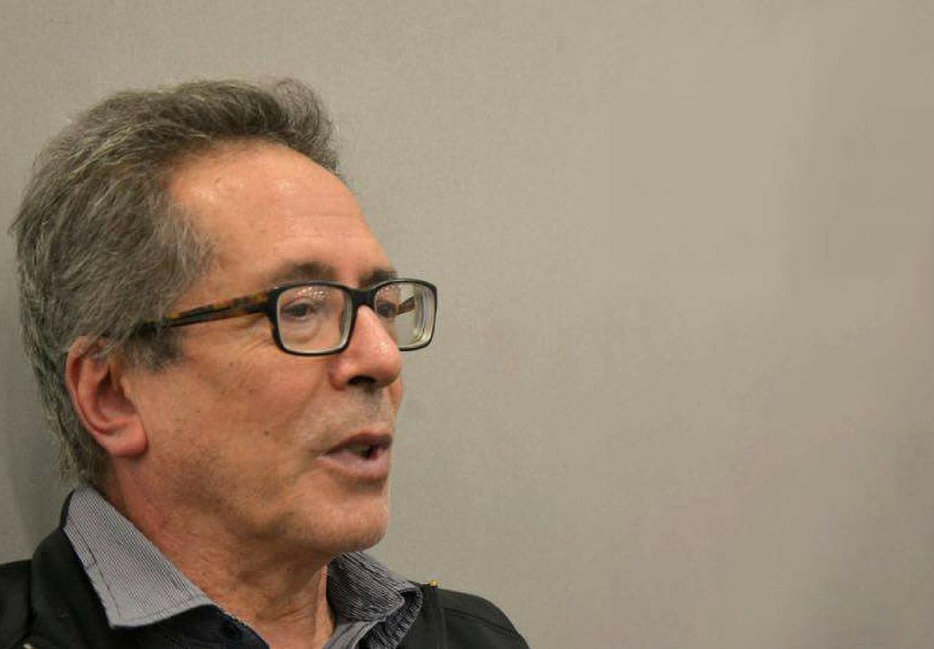 El escritor argentino César Aira. Foto: Agustín Díaz.