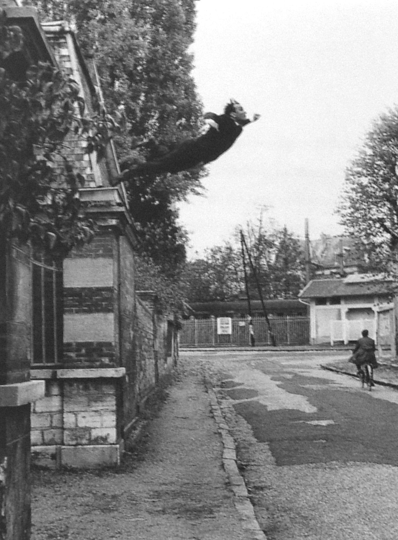 Yves Klein: «Saut dans le Vide» (1960).