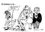 el bárbaro y la protesta social