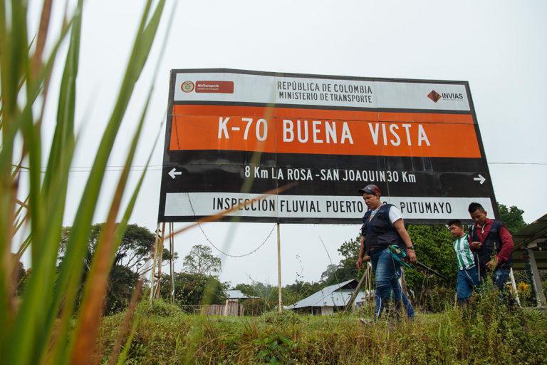 El resguardo Buenavista se encuentra muy cerca del río Putumayo. Foto: Amazon Frontlines.